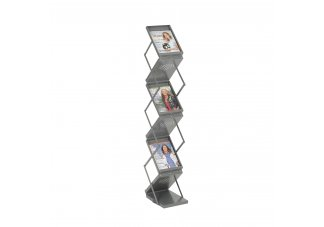 Ready-Set-Go! Double Sided Folding Literature Display