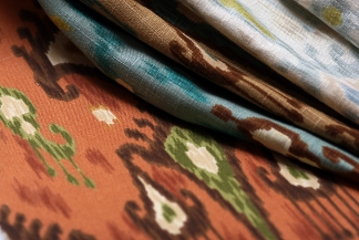 ikat fabrics from Robert Allen