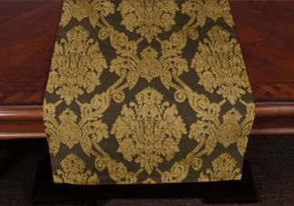 Gilded Holiday Table Runner