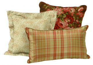 Homespun Christmas Pillow Set