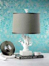 Coral Design Table Lamp