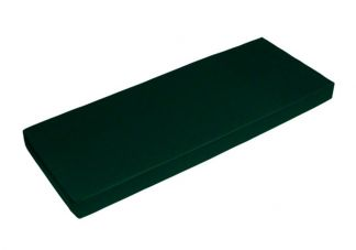 Sunbrella Forest Green Bench Cushion