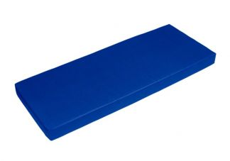 Sunbrella Pacific Blue Bench Cushion