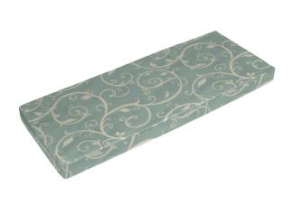 Sunbrella Cabaret Bluehaze Bench Cushion