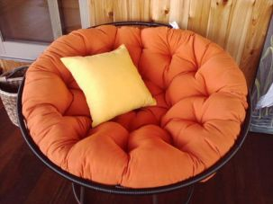 custom papasan cushion