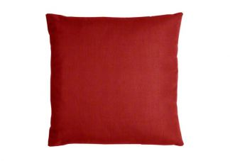 Sunbrella Jockey Red Pillow