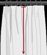 Custom Flat Drapes