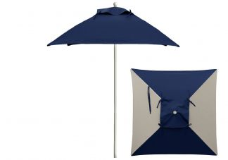 Commercial Square Market Umbrella with Vent PIP