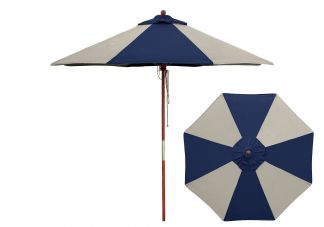 Commercial Wood Market Umbrella
