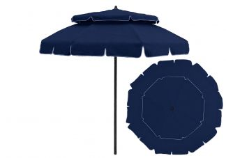 8 Panel Double Tier Umbrella Pip