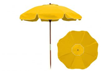 7.5 Yellow Beach Umbrella