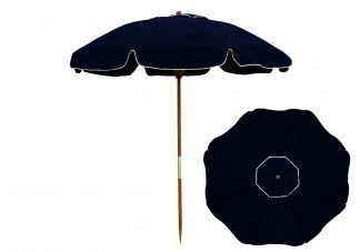 7.5 Navy Blue Beach Umbrella
