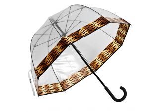 Premium Fiberglass Bubble Umbrella - Tiger Trim