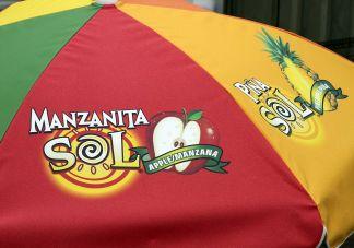 ManSol Logo Umbrellas