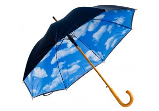Auto-Open Perfect Day Print Umbrella