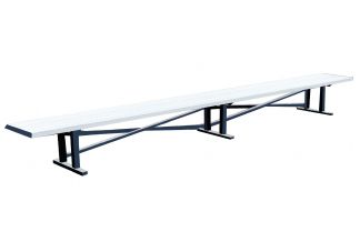 All Aluminum Double Player Bench