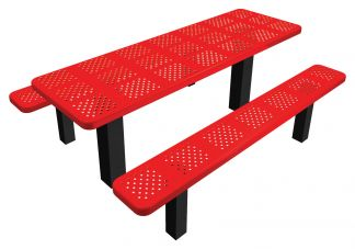 Permanent Perf Picnic Table