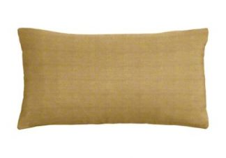 Silk Dean Peanut Lumbar Pillow