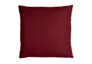 Outdura Burgundy Throw Pillow