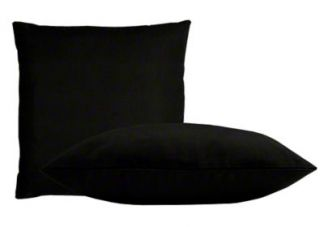 Sunbrella Black Pillow Set