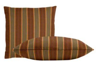 Sunbrella Davidson Redwood Pillow Set