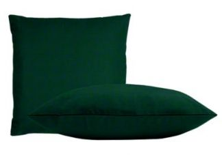 Sunbrella Forest Green Pillow Set