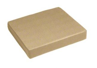 Sunbrella Heather Beige Seat Cushion