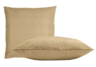 Sunbrella Heather Beige Pillow Set