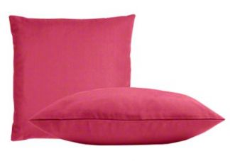 Sunbrella Hot Pink Pillow Set