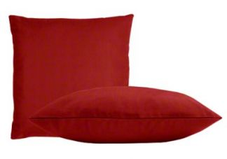 Sunbrella Jockey Red Pillow Set