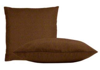 Sunbrella Teak Pillow Set