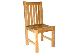 Teak Block Island Chair