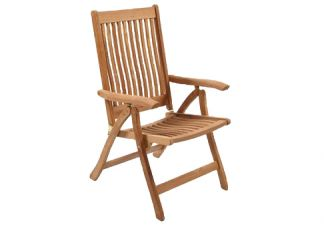 Teak Estate Reclining Chair, Estate Reclining Chair, Estate Chair, Teak Chair, Teak