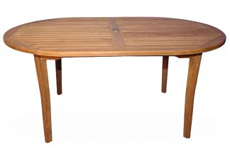 Teak Captiva Oval Table