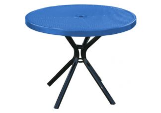 picnic table, round picnic table