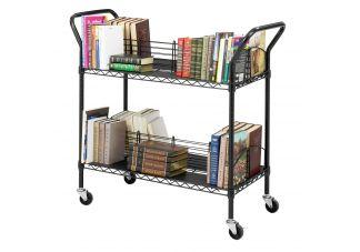 Wire Book Cart