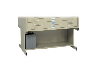 Tropic Sand High Base for Safco Flat File 4994