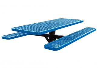 In Ground Rectangle Picnic Table