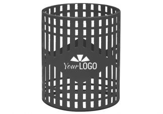 Shop Logo Trash Cans