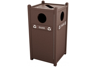 Shop Recycled Plastic Recycling Stations