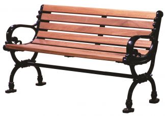 Series 1468 Cast Iron Bench