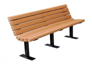 Jameson Heavy-Duty Recycled Plastic Bench