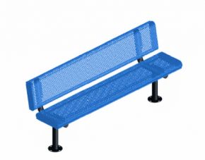 4 ft. Innovated Rolled Portable Bench w/ Back