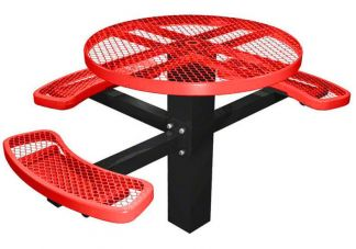 round ada picnic tables, picnic tables, round picnic tables