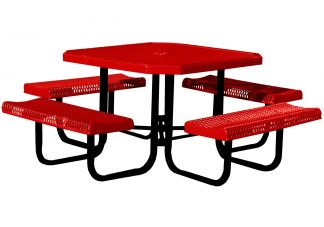 Rolled Octagonal Picnic Table