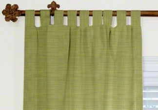 custom tab top blackout curtains