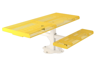 6 ft. Roll Ped ADA Table Surface  Mount