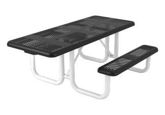 6 ft. Perforated Portable ADA Table - 1 Sided