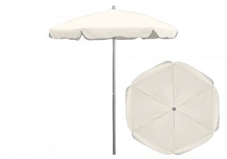 6.5 ft. Sunbrella Natural Patio Umbrella