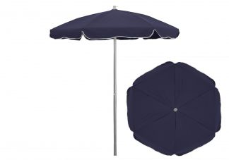 6.5 ft. Sunbrella Captain Navy Patio Umbrella